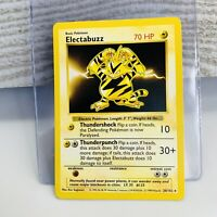 Shadowless Electabuzz 20/102 Base Set 1999 Pokemon Card WOTC VG+