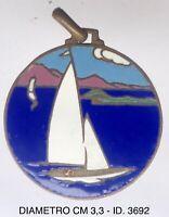 """Lago di Como A.XIX 1941 medaglia Regate Nazionali Vela C.V.C. """"3692"""""""