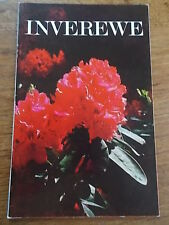 Vtg 1972 INVEREWE Illustrated guide to the Gardens National Trust for Scotland