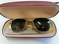 Vintage Original American Optical Command 5 ½ Gold Sunglasses 52[]20 135mm W/c