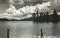 Early 1900s Real Photo Postcard RPPC Big Bear Lake California Unposted