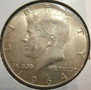 1964-P 50c Kennedy Half Dollar 90% Silver