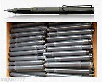 40 LAMY Fountain Pen Ink Cartridges, Refills for LAMY SAFARI in BLACK (new)