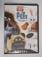 The Secret Life of Pets (DVD, 2016)