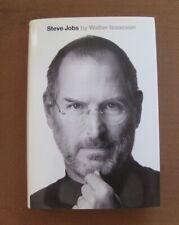 SIGNED - STEVE JOBS biography by Walter Isaacson - 1st 2011 HCDJ  - Apple - fine