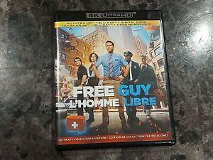 Free Guy 4K UHD Movie Ryan Reynolds