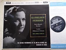Bach And Handel Arias Kathleen Ferrier London Phil Boult UK Ssb Sxl 2234