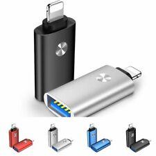 Adaptador USB Lightning on-the-go Kit de Cámara para iPhone 7 8 6 Plus iPad iOS 12 S 13 X