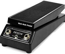 WAH-WAH Sound Music Electric Guitar Effect FX Pedal Black DF2210 US