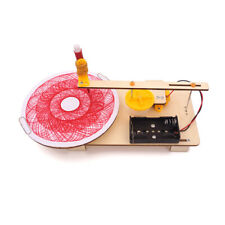 DIY Auto Drawing Robot Kit Physics Scientific Experiment Assemble Model Toy