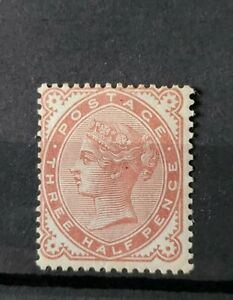 GB QUEEN VICTORIA SG 167 1 1/2D VENETIAN RED M/MINT