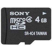 Sony 4GB MicroSDHC Card - SR4A4