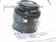 KONICA MINOLTA MAXXUM 50mm f/1.7 LENS for SONY A35 A37 A55 A57 A58 Alpha 1.8