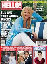 HELLO! MAGAZINE No 1139: 6 September 2010 (Tiger Woods Divorce)