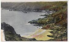 Guernsey; Petit Port Bay & Moulin Huet PPC, Unposted, c 1910's