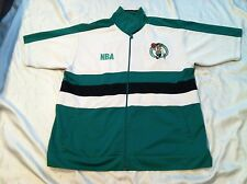 OUNK NBA Boston Celtics Zippered (2XL) Player Warm-Up Jacket Pre-owned Very Nice