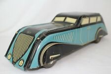 1930's Voision? Large Streamline Biscuit Tin Car, Original