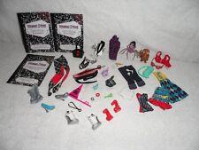 Accesorios De Monster High Paquete Incluye Raro Frankie Stein ropa