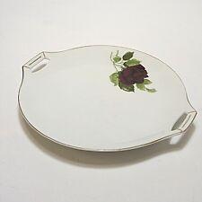 Fraureuth Platte Fleischplatte Rosenzweig Rose 27,5 cm