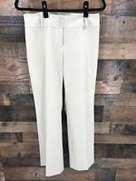 Ann Taylor Loft Petites Women's Tan Julie Flat Front Trouser Pants Size 6P
