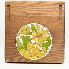 Vintage Goodwood Cermaic Trivet Cheese Cutting Board