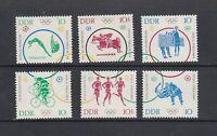 DDR Michel-Nr. 1039-1044 ** postfrisch - Einzelmarken aus Sechserblock