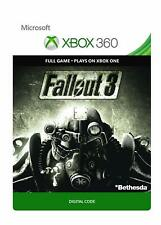 Fallout 3 - Full Game Code - Xbox 360/Xbox One