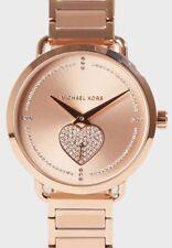 Michael Kors MK 3827 Portia Pave Rose Gold Tone Ladies Watch