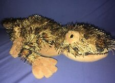 "Neat Ganz Webkinz Leopard Lizard #HM198 Stuffed Plush Toy 14"" Long"