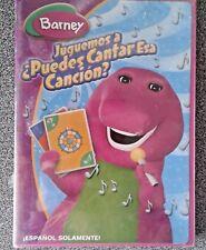 Barney Purple DinosauSpanish DVD Juguemos a Puedes Cantar Esa Cancion NEW Sealed