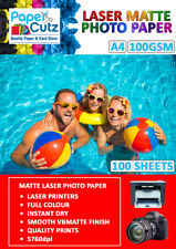 More details for a4 laser photo paper double sided, matte or gloss coated for printing images