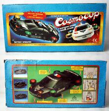"RARE VINTAGE 90'S COSMOCOP 14.5"" SPACE POLICE CAR CHINA NEW NEEDS REPAIR !"