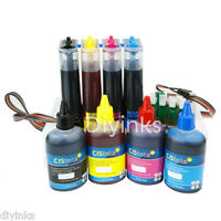 Continuous Ink System CIS + Refill Ink Set alternative for WF-3620 WF-3640