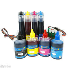Continuous Ink System CISS and Refill Ink Set for Epson WF-7710 WF-7720 WF-7210