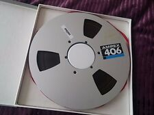 Ampex 406 10.5 inch, 1/4 - Reel-to-Reel Tapes Audio Mastering tape