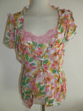 Per Una Scoop Neck Regular Floral Tops & Shirts for Women