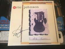 Signed Autographed Eric Johnson Ah Via Musicom LP MINT 180G Limited Edition G...