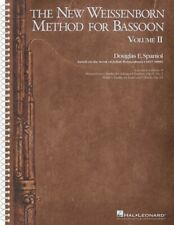 The New Weissenborn Method for Bassoon Volume 2 Instructional Book 000283708