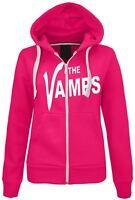 Womens The Vamps Hoodie Ladies Zipped Sweatshirt Top Jumper Jacket Hoody Size