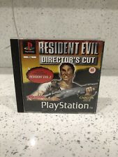 Ps1 Game - Resident Evil Directors Cut Playstation 1 - Complete Rare Collector