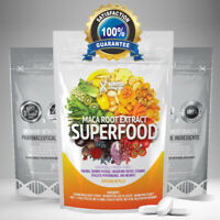 2000mg MACA root extract Pills - high grade SUPERFOOD Tablets - ENERGY & STAMINA