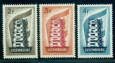 LUXEMBOURG #318-20 Coal & Steel, og, LH, VF, Scott $65.50