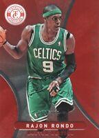 2012-13 Totally Certified Basketball Red #173 Rajon Rondo 102/499 Boston Celtics
