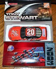 Action NASCAR 1:24 2003 Tony Stewart #20 Home Depot  2003 Monte Carlo