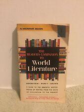 The Reader's Companion to World Literature book (1964) PB
