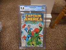 Captain America 300 cgc 9.8 CLASSIC Cap vs Red Skull cover Marvel 1984 MINT WHIT