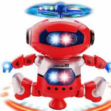 Electronic Walking Dancing Smart Space Robot Astronaut Kids Music LED Light Toy