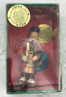 Ornament KURT ADLER 1979 Christmas Around the World CHINA In Box SEARS 93304