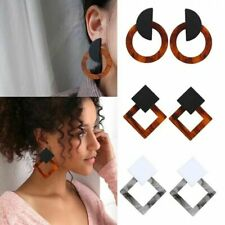 Big Square Statment Acetate Earring