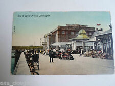 Vintage Colour Tinted PC SPA & OPERA HOUSE, BRIDLINGTON Franked+Stamped 1918